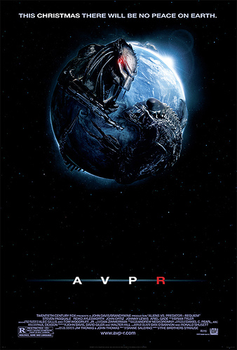 Cartel de Aliens Vs. Predator Requiem